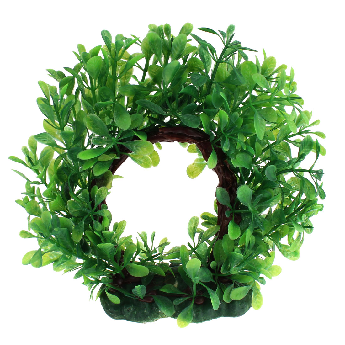 Aquarium Plastic Artificial Curve Design Water Plant Ornament