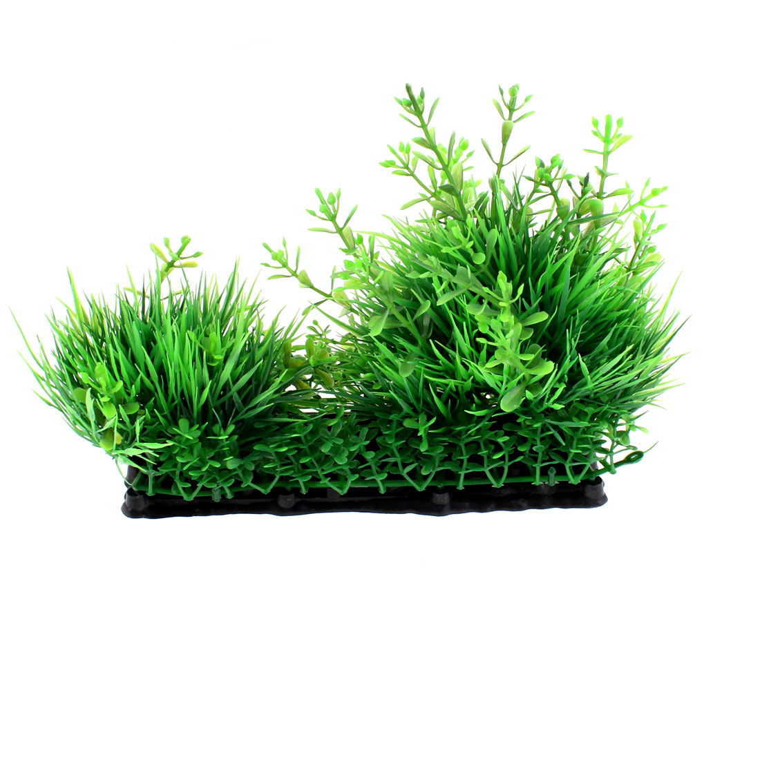 Plastic Manmade Underwater Plant Grass Decor 12 x 18cm for Aquarium Fish Tank