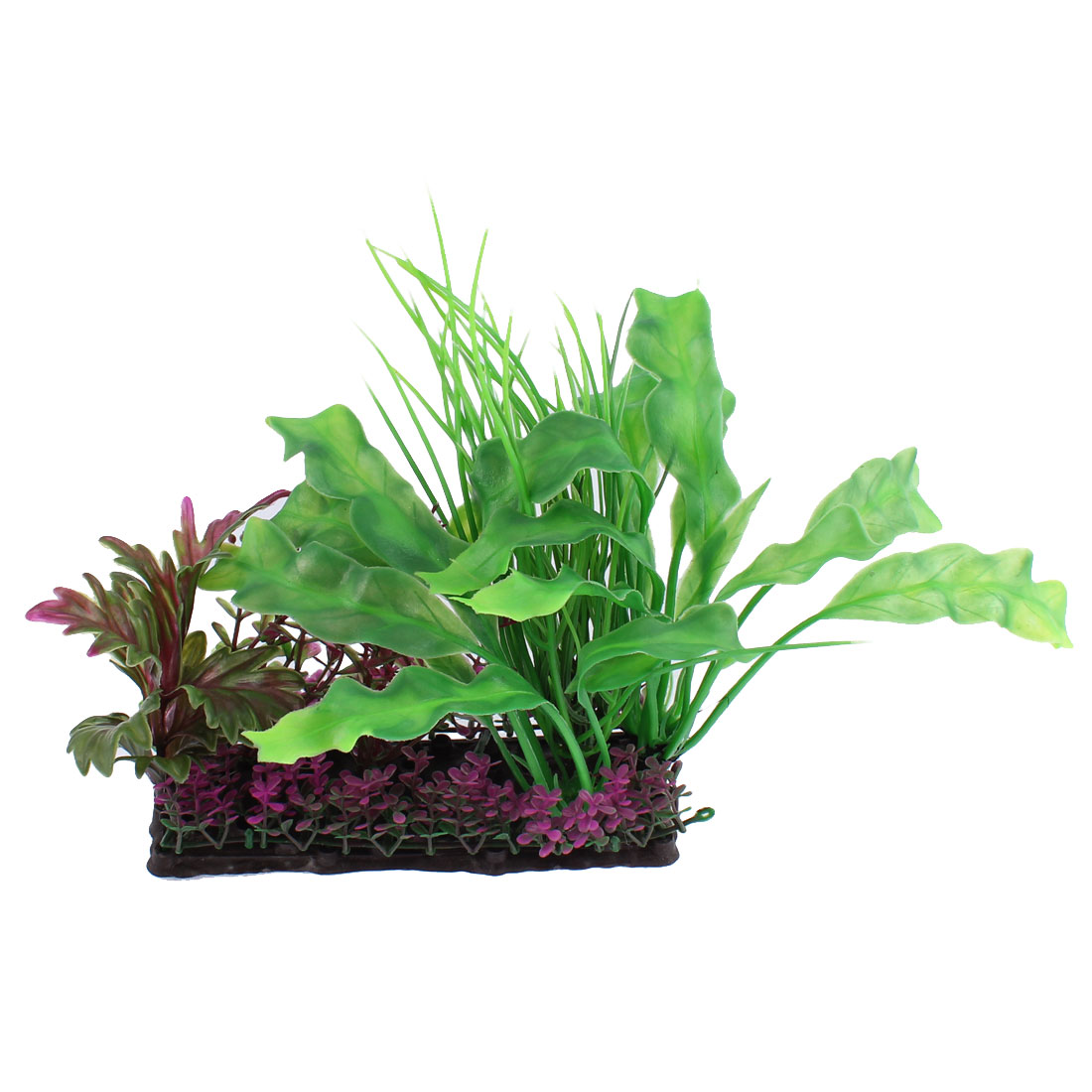 Aquarium Emulational Plastic Grass Plant Ornament 18 x 18cm
