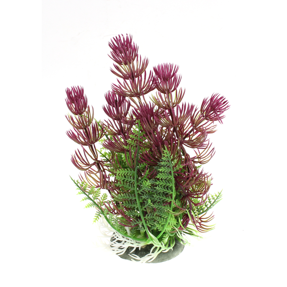Aquarium Plastic Landscaping Plant Grass Decoration 17cm Height