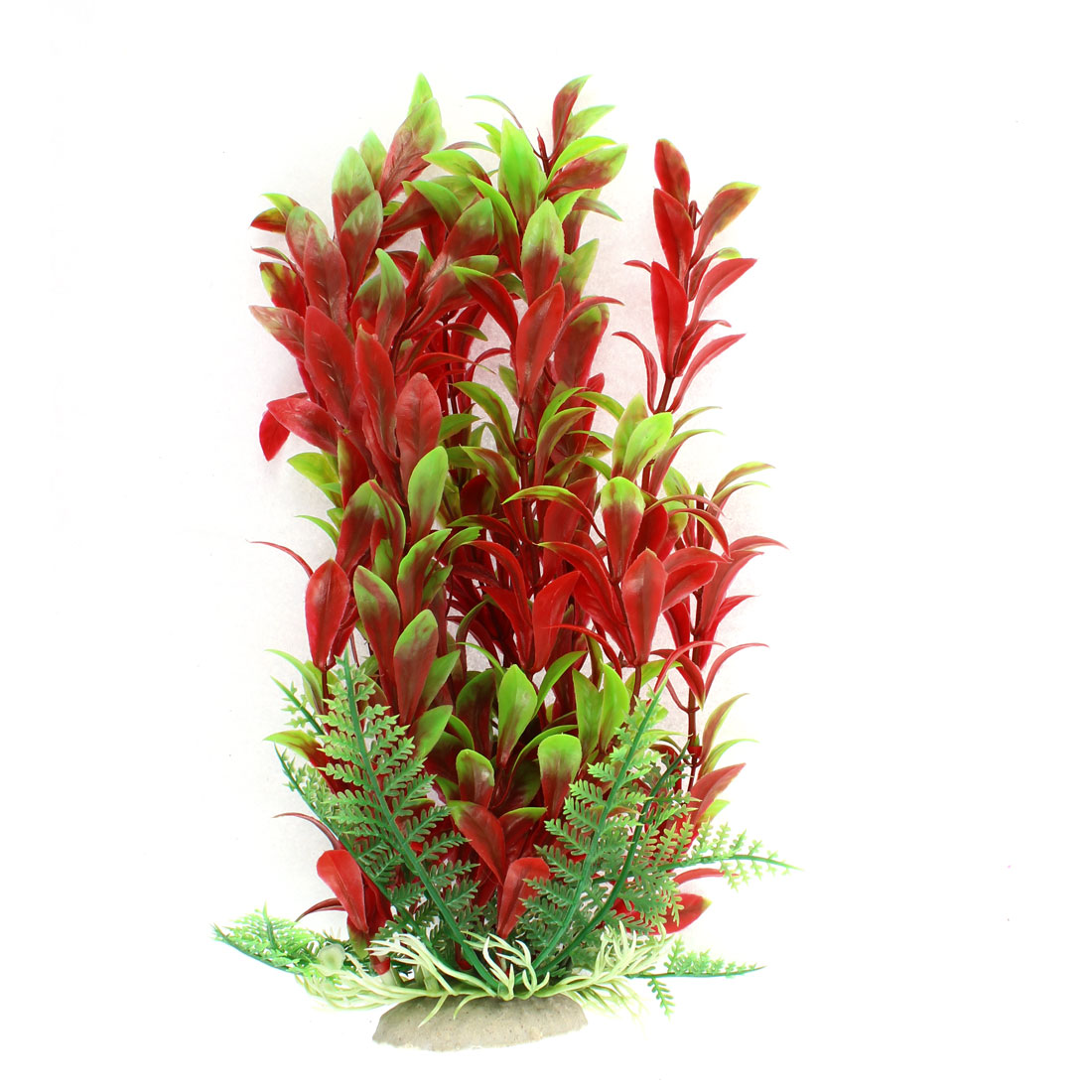 "Aquarium Plastic Manmade Aquatic Plant Decor 9"" Height"