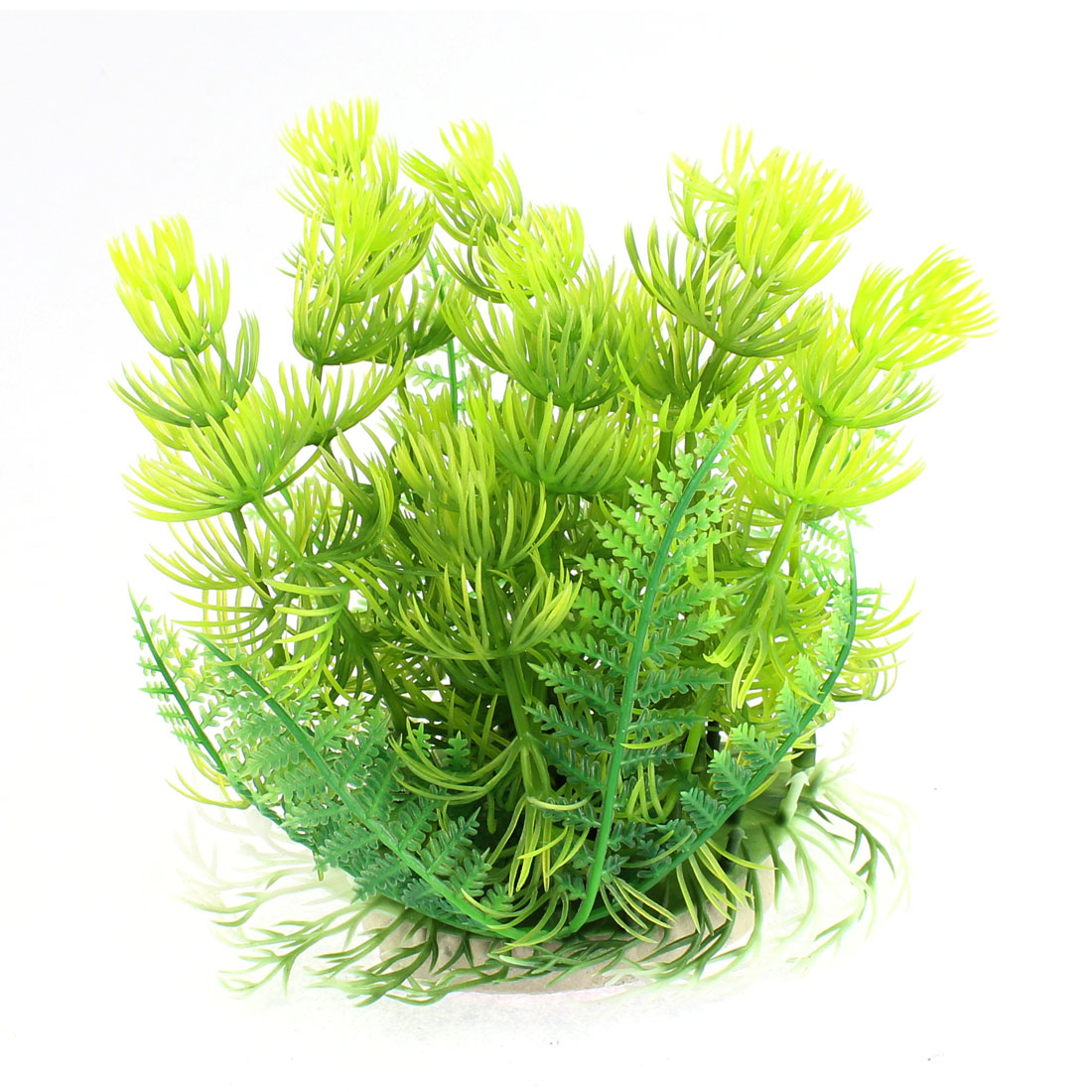 Fish Tank Fishbowl Aquarium Eemulational Plant Landscape Grass Green