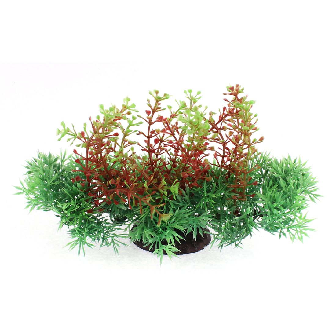 Aquarium Fishbowl Plastic Simulation Water Plant Grass Decoration 11.5x20cm