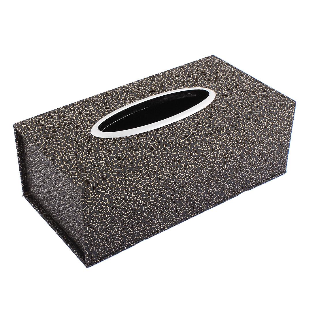 """Home Office Car Napkin Paper Tissue Box Holder 9"""" Length"""