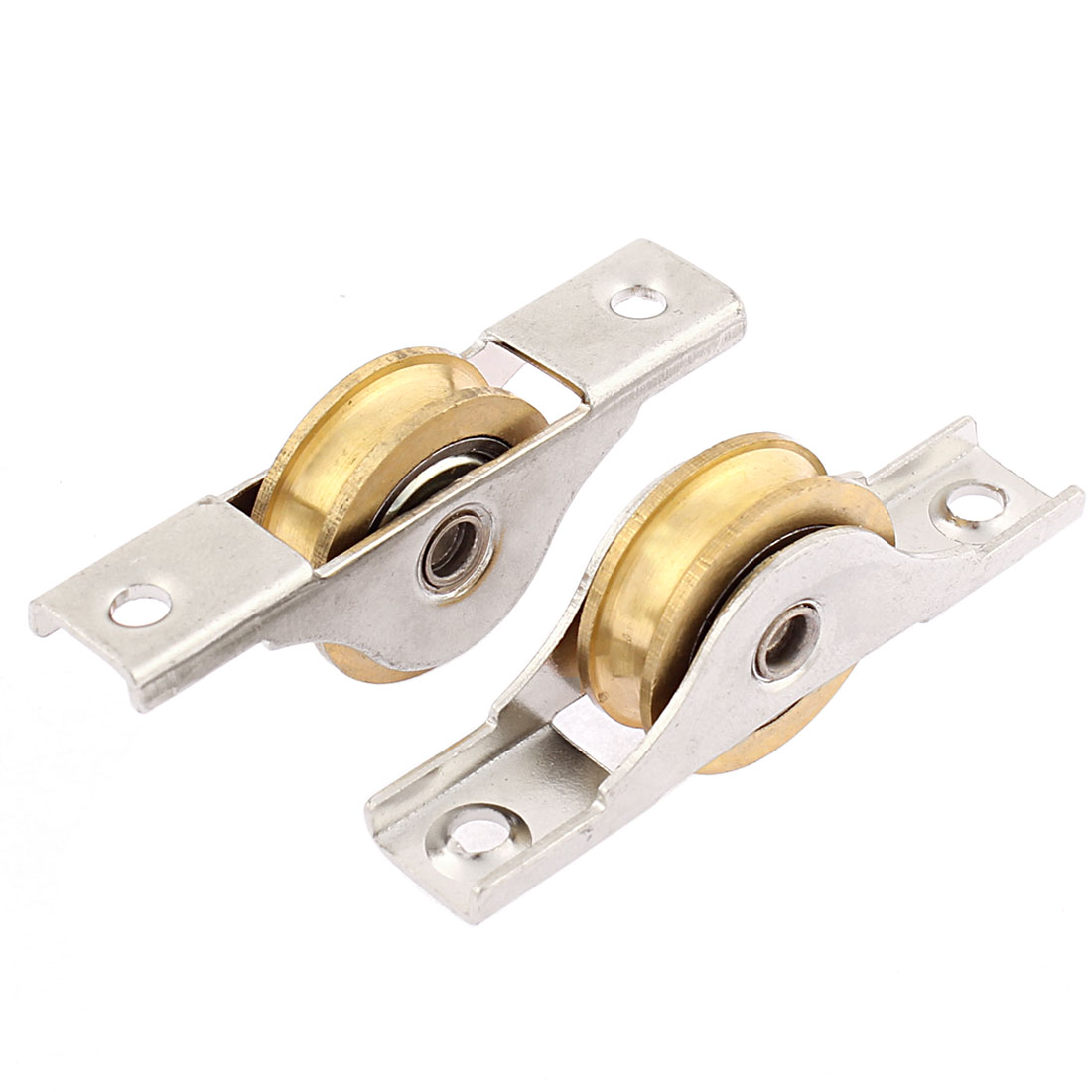 Cabinet Door Sliding Wheel Window Sash Pulley 26mm Single Roller 2pcs