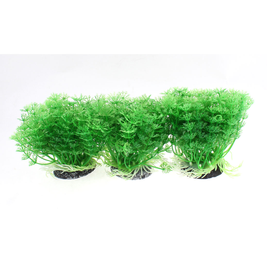 Aquarium Emulational Underwater Grass Plant Ornament 10.5cm Height 3pcs