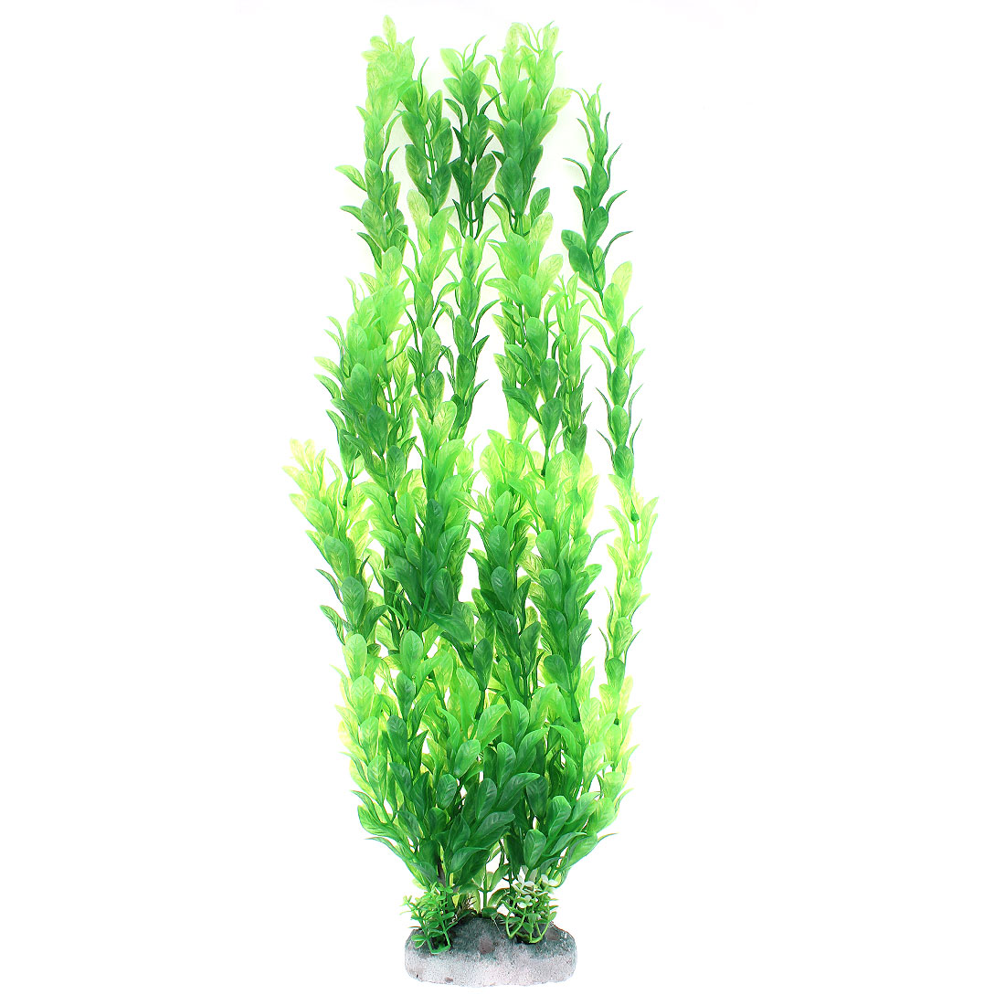 Plastic Manmade Water Plant Grass Green 46cm Height for Aquarium