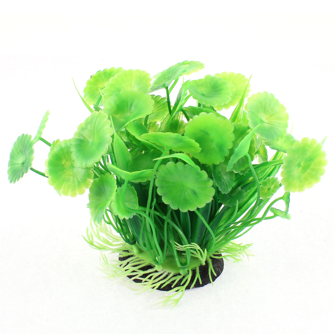 Aquarium Plastic Simulated Water Plant Grass Decoration Green 3 Pcs