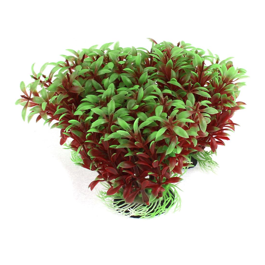 Aquarium Fishbowl Artificial Landscaping Plant Grass Decoration 12x14cm 3pcs