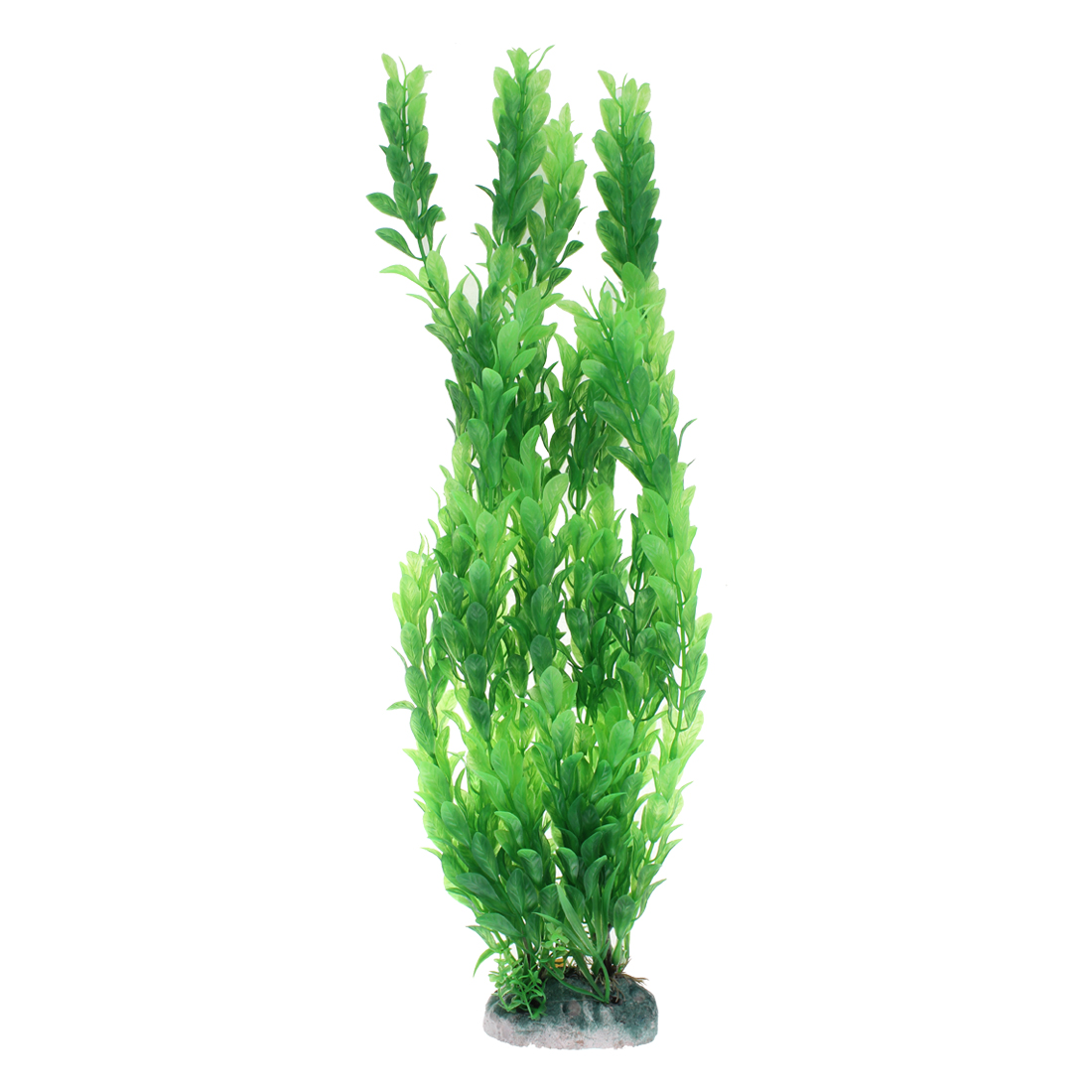 Aquarium Plastic Artificial Water Plant Grass Embellishment Green 46cm Height