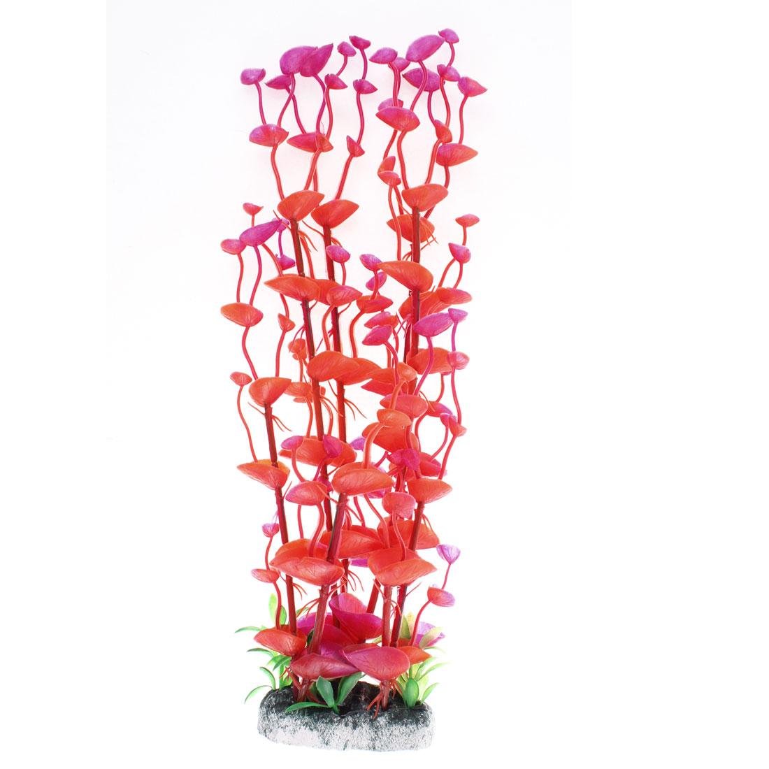 """Aquarium Plastic Aquascaping Underwater Plant 13"""" Height"""