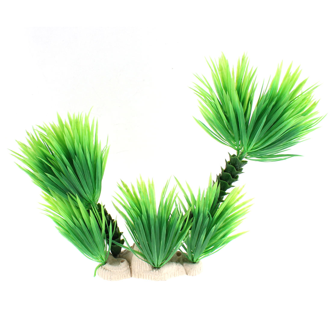 Aquarium Plastic Artificial Plant Underwater Grass Ornament 24 x 30cm