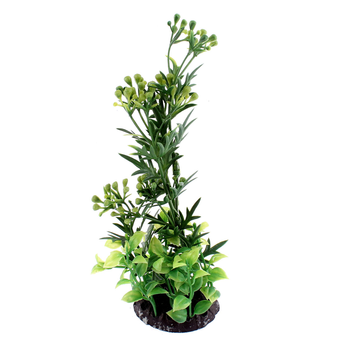 Aquarium Plastic Aquascaping Underwater Plant Decor Green
