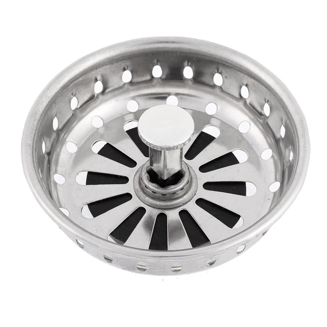 Household Kitchen Sink Garbage Basin Strainer 85mm Dia