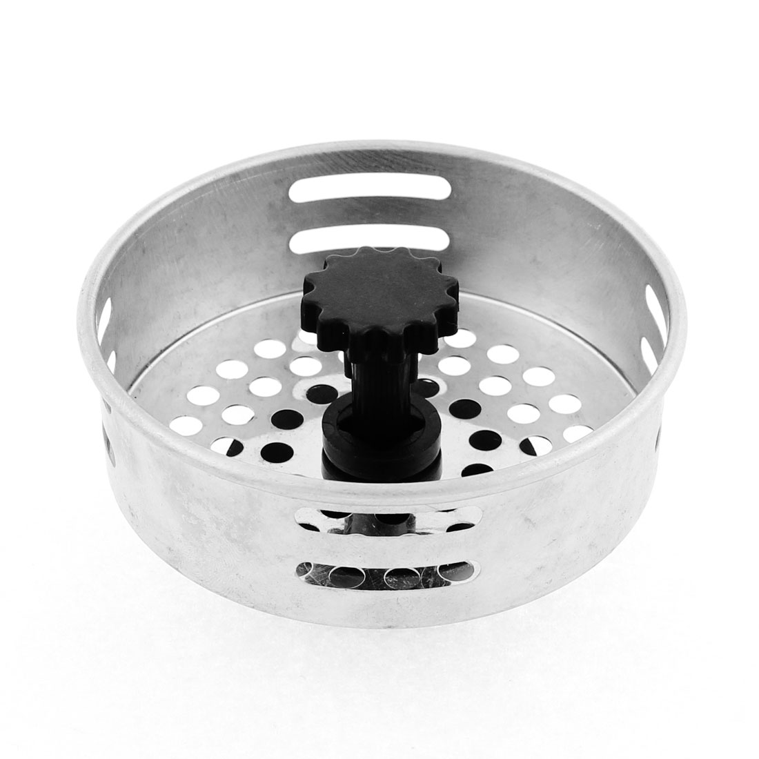 Kitchen Stainless Steel Water Sink Basin Strainer Filter Stopper 80mm Dia