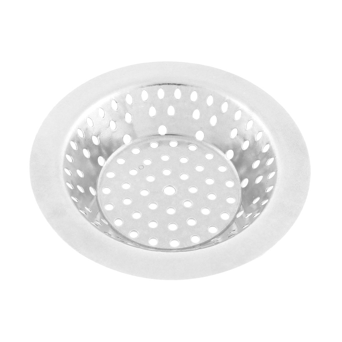 Kitchen Stainless Steel Sink Strainer Drainer Filter Stopper 106mm Dia