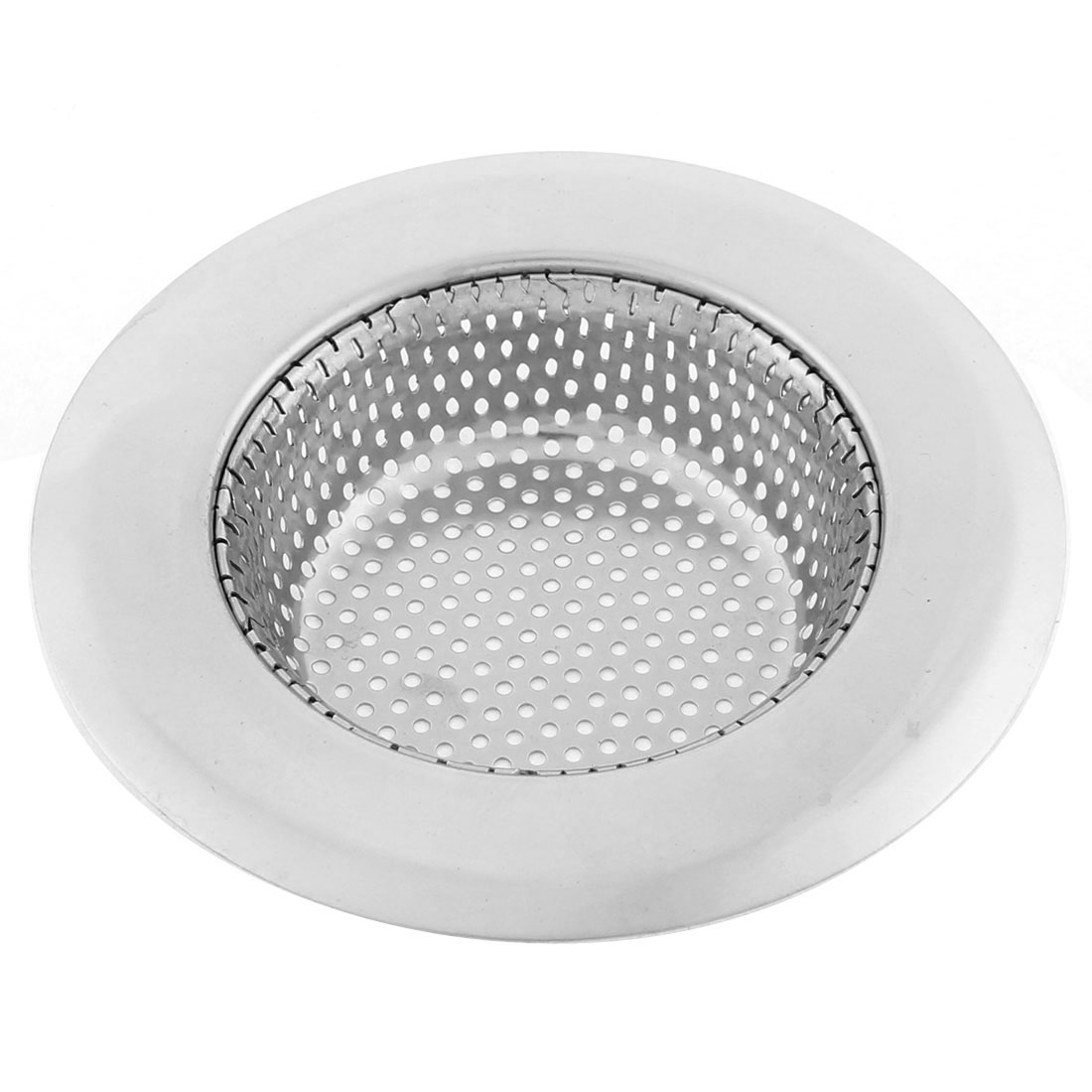 Kitchen Floor Basin Sink Stainless Steel Mesh Filter Strainer 11.3cm Outer Dia