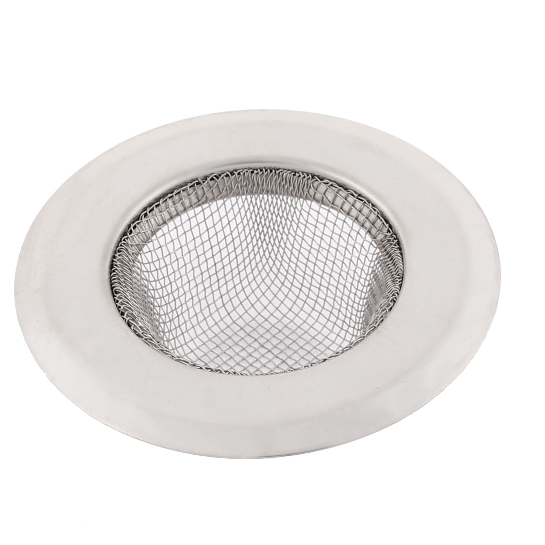 Bathroom Stainless Steel Sink Basin Water Drainer Strainer Filter 7cm Outer Dia
