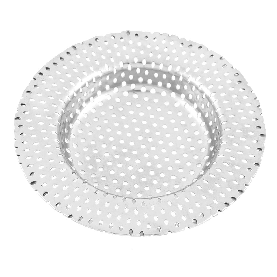 Bathroom Kitchen Mesh Basket Sink Basin Drainer Strainer 9cm Dia