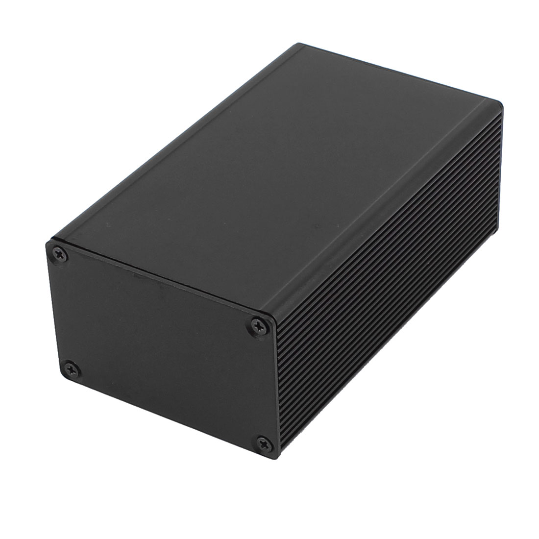 115mm x 67mm x 43mm Sealed Aluminum Enclosure Case Junction Box Black