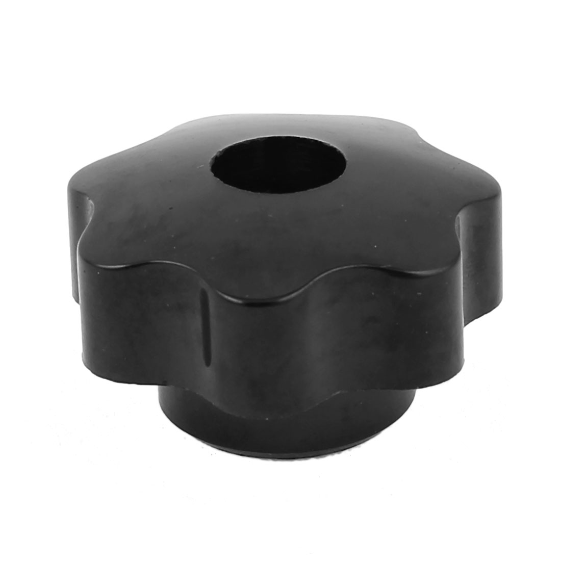 6mm Diameter Thread Hole Female Star Head Clamping Knob Replacement Black