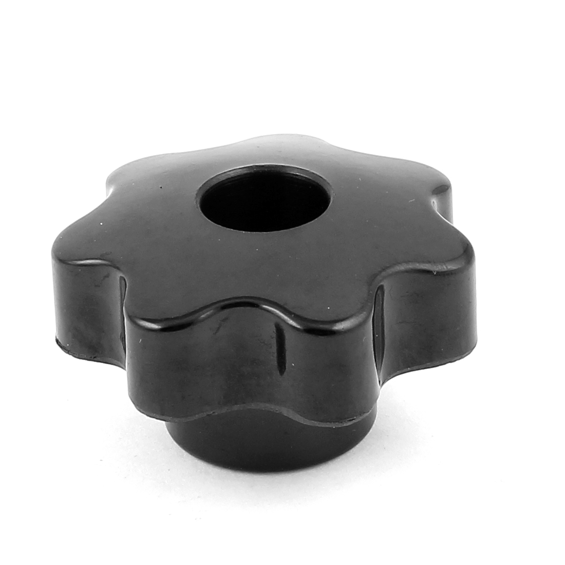 M7x32mm Diameter Thread Hole Black Star Head Clamping Knob Replacement