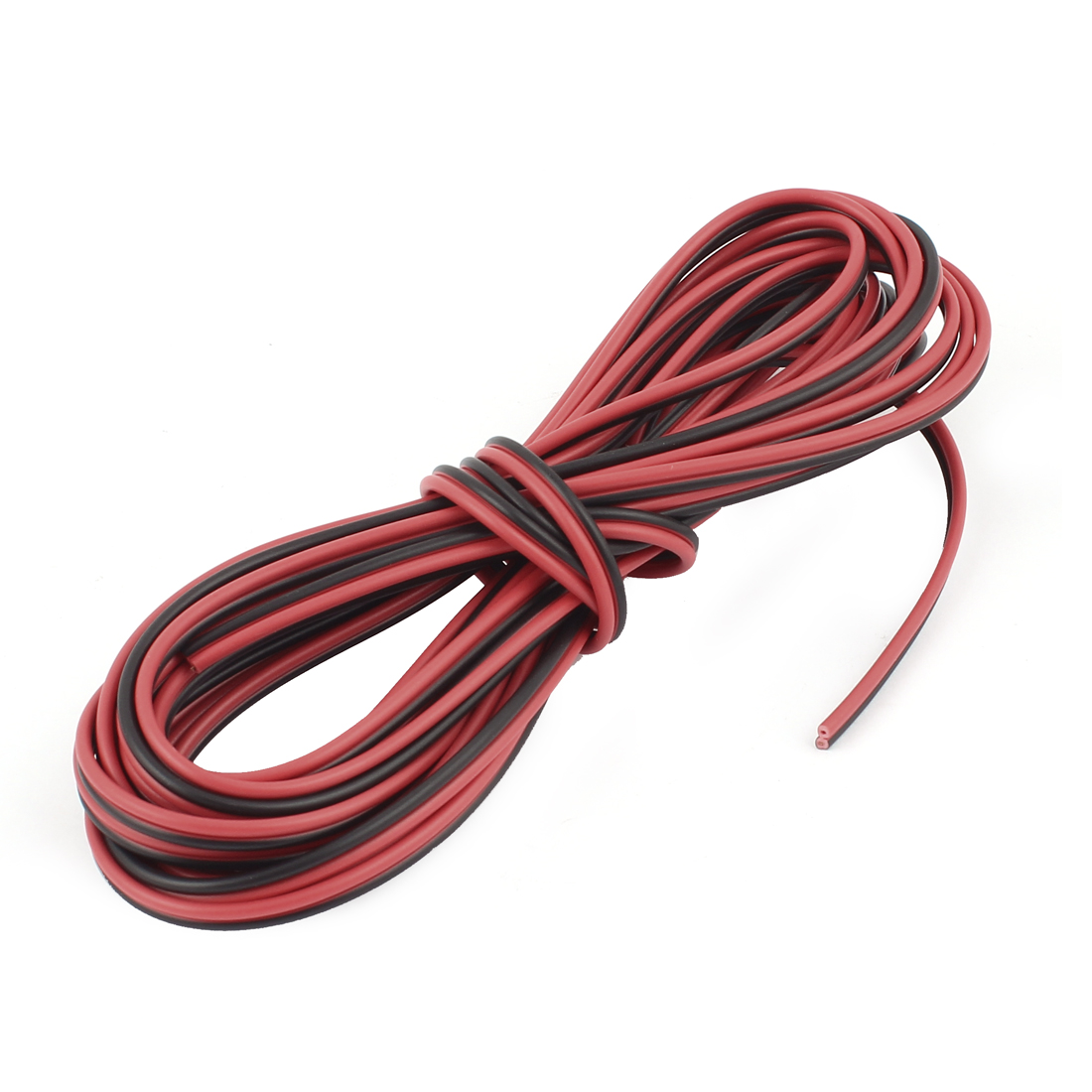 20AWG Indoor Outdoor PVC Insulated Electrical Wire Cable Black Red 6 Meters