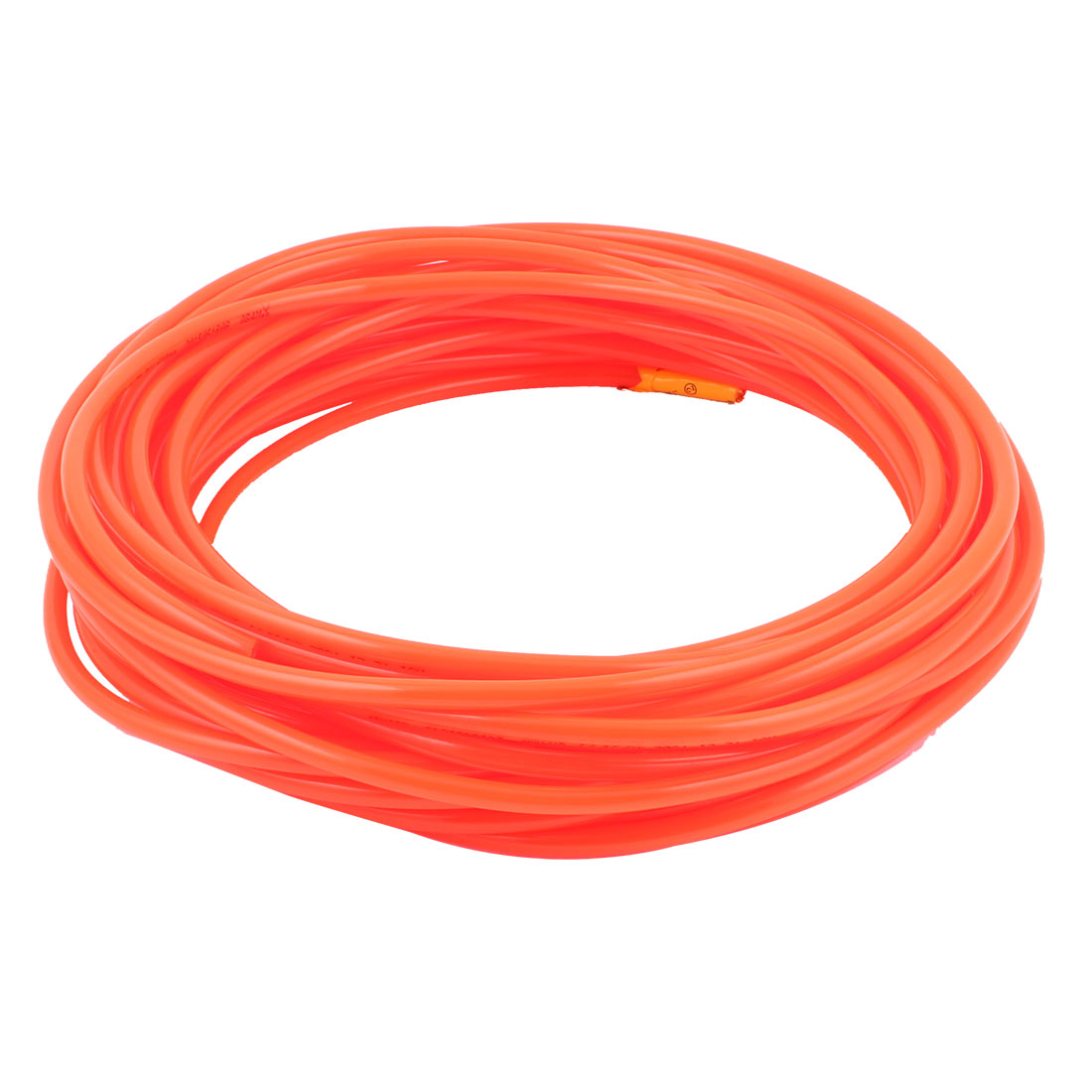 15m Polyurethane Tube PU Air Compressor Hose Pneumatics Plastic Orange 6*4MM