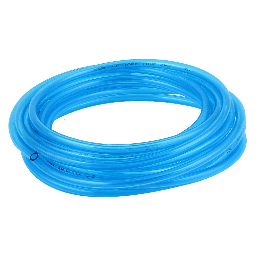 7m 11*7MM Polyurethane Tube PU Air Compressor Hose Pneumatics Plastic BBLU