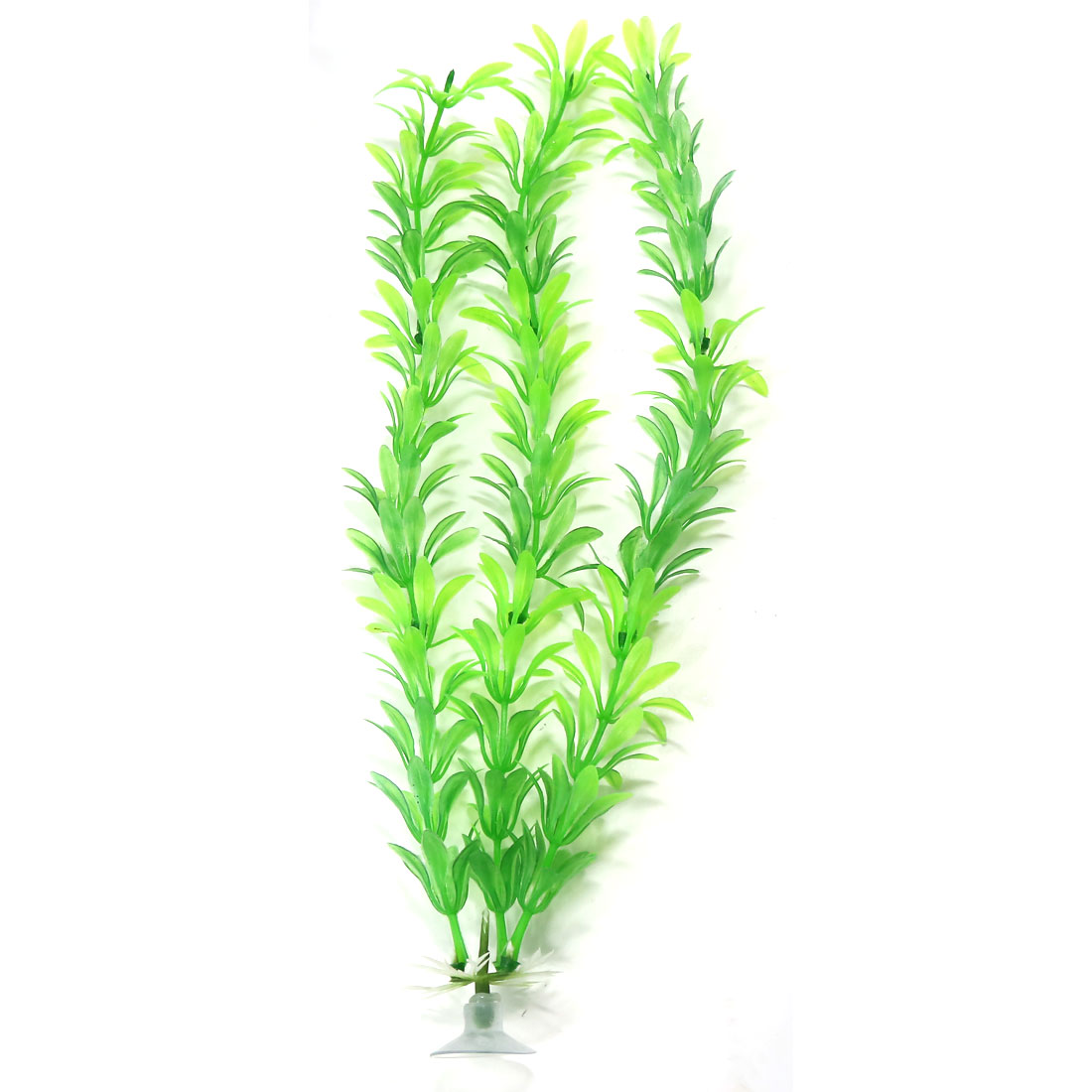 10 pieces Green Aquarium Grass Plants Ornament with sucker base