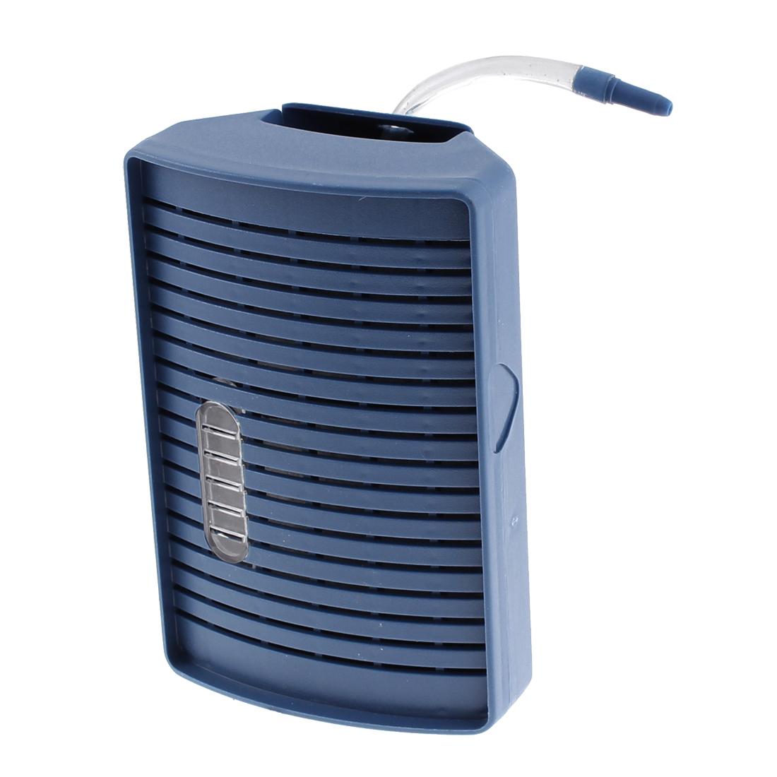 Aquarium Tank Pump Corner Air Driven Cartridge Filter Blue
