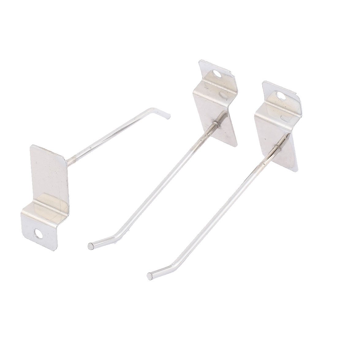 Wall Mounted Towel Clothing Hat Metal Display Hook Hanger 3pcs