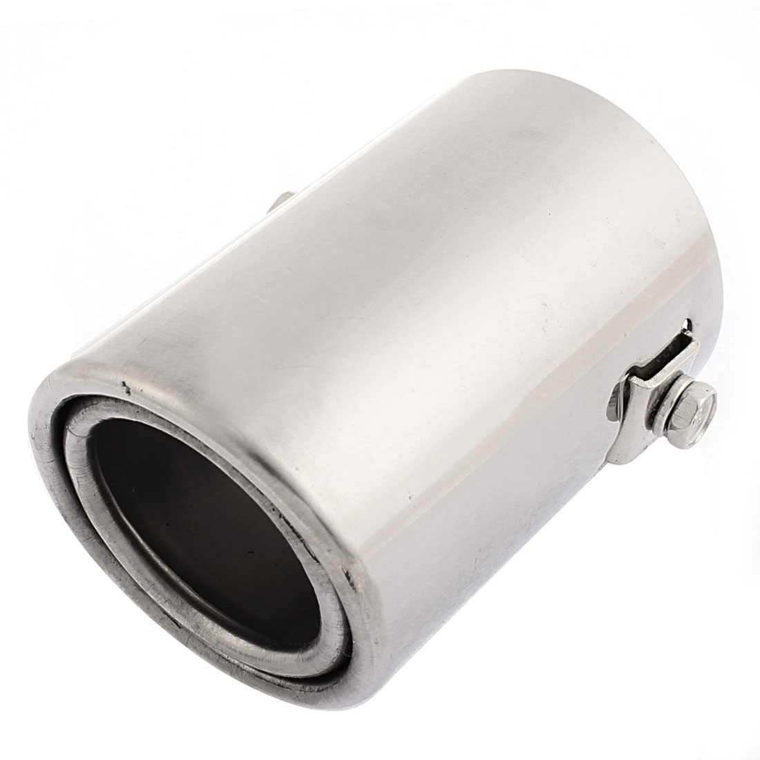Universal Auto Car Oval Stainless Steel Exhaust Tail Muffler Tip Pipe