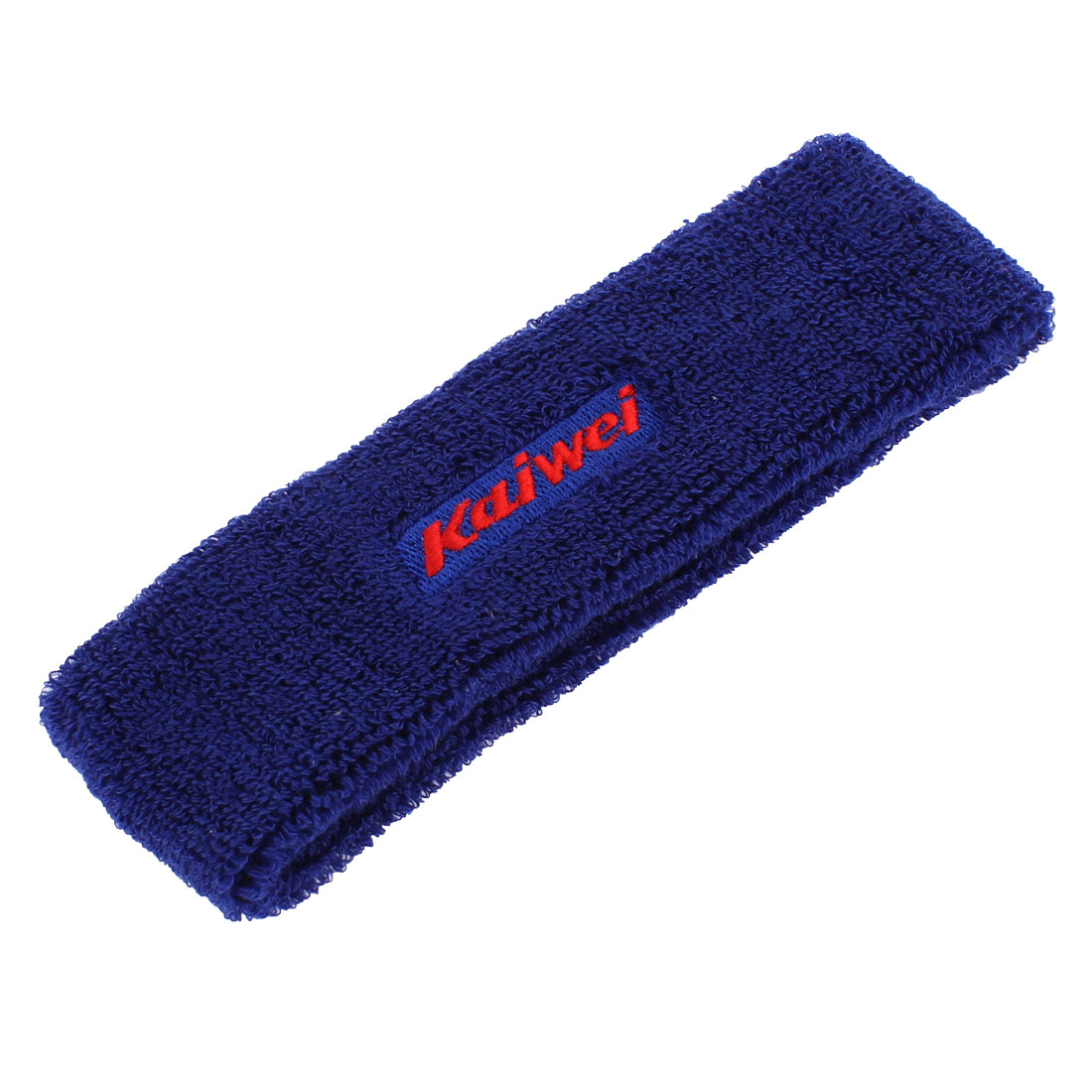 Yoga Gym Sports Sweatband Headband Stretch Head Hair Band Blue