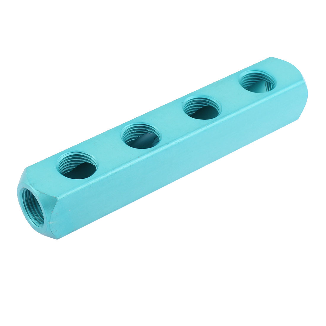 1/2BSP Thread 4 Way Quick Connect Aluminum Manifold Block Splitter