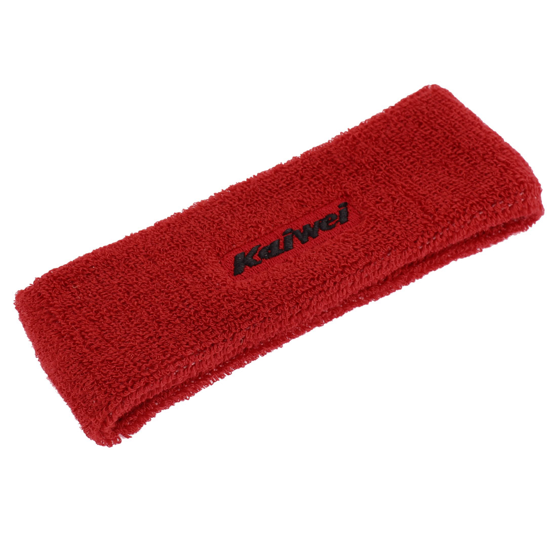 Women Elastic Sports Yoga Headband Hairband Hair Band Red