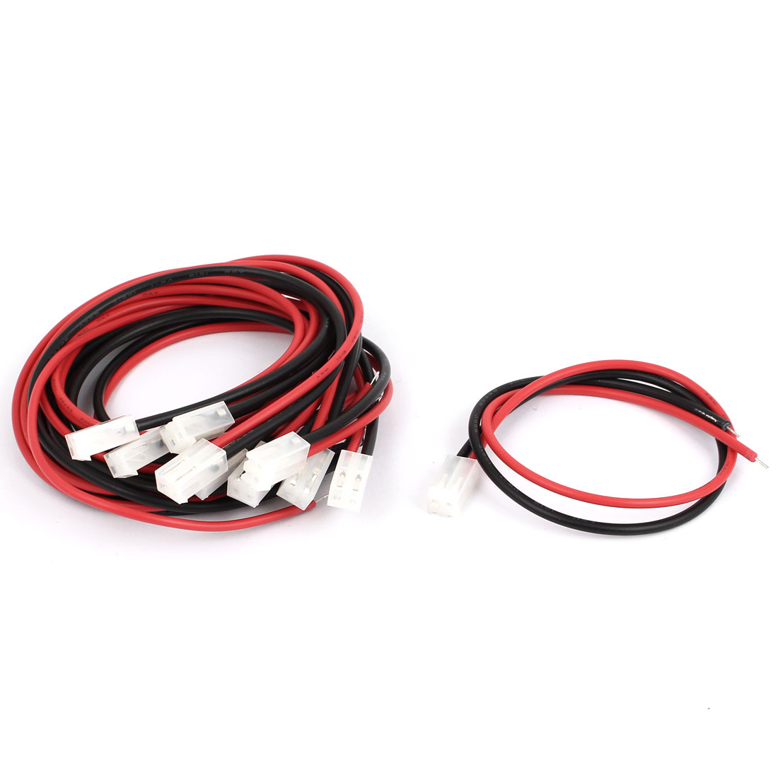 VH-2P 3.96mm Pitch Female Connector Header Wire Line 300mm 10pcs