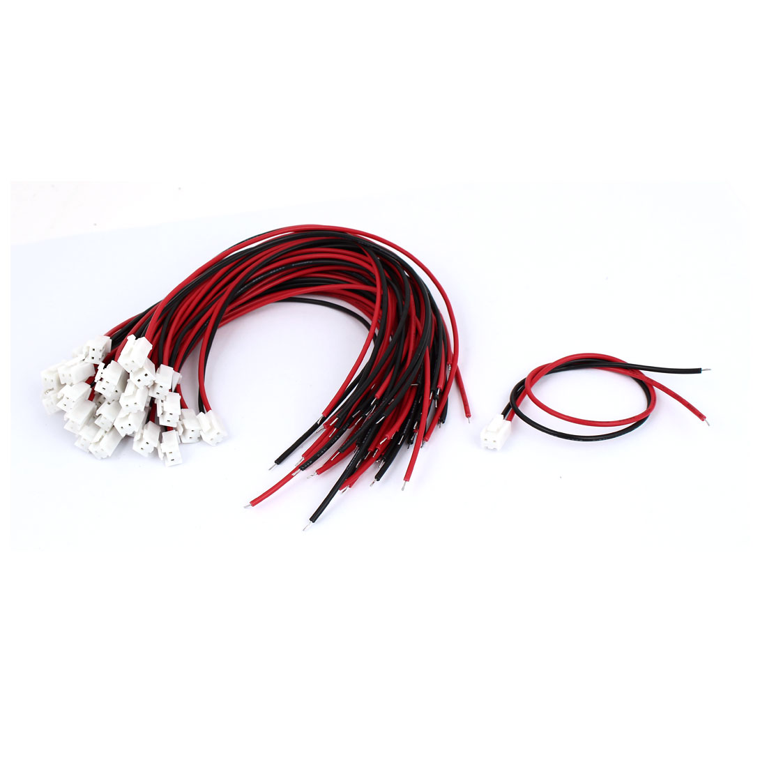 30pcs VH3.96-2P 3.96mm Pin Pitch Connector Leads Cable 300mm Long
