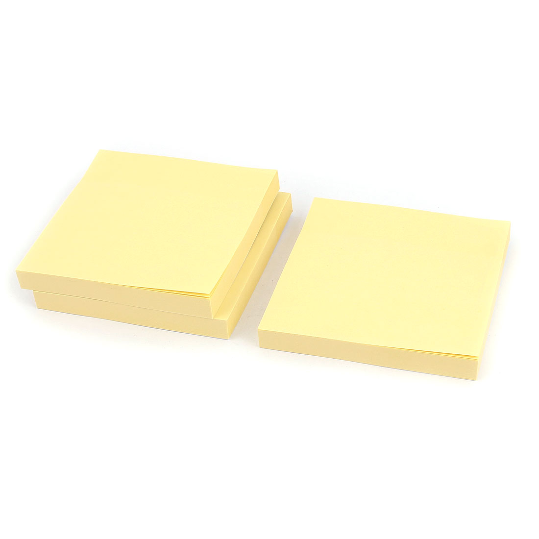 12pcs Post Sticker Bookmark Memo Pad Marker Point Tab Flags Sticky Notes Yellow