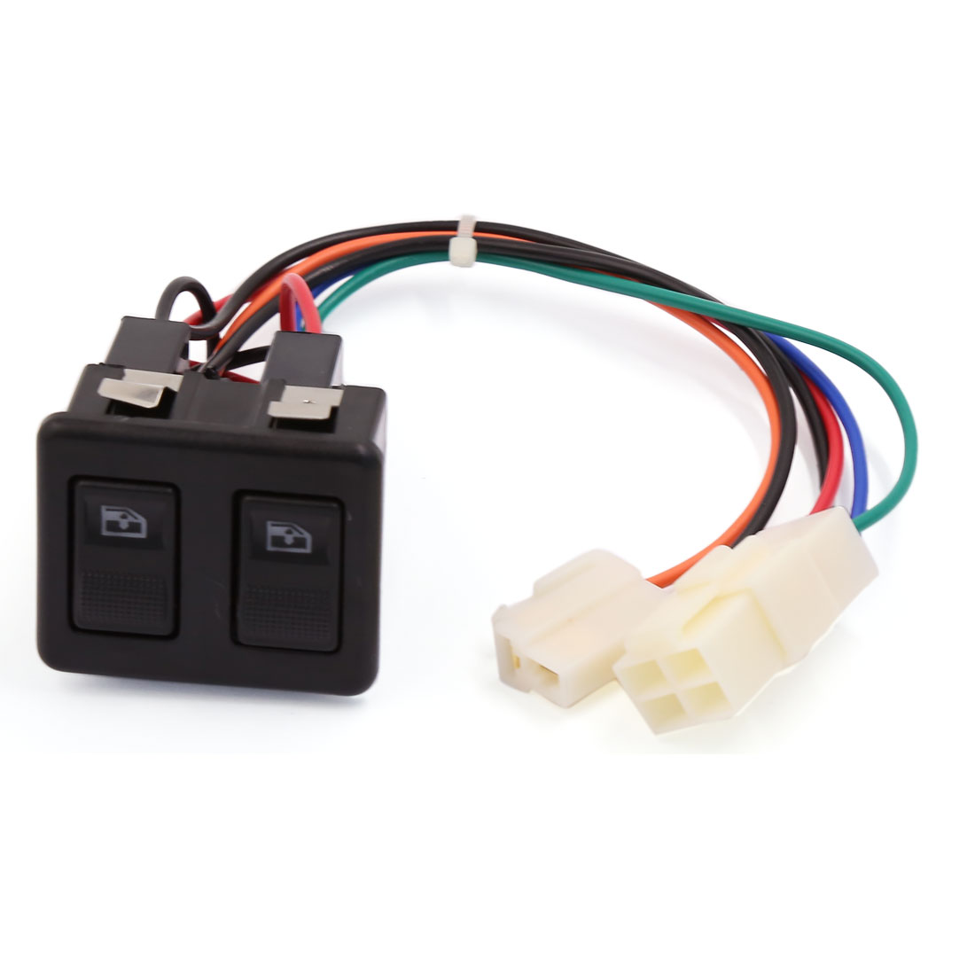 Car Panel Mount Dual Button Window Open Glass Lift Switch for Volkswagen Jetta