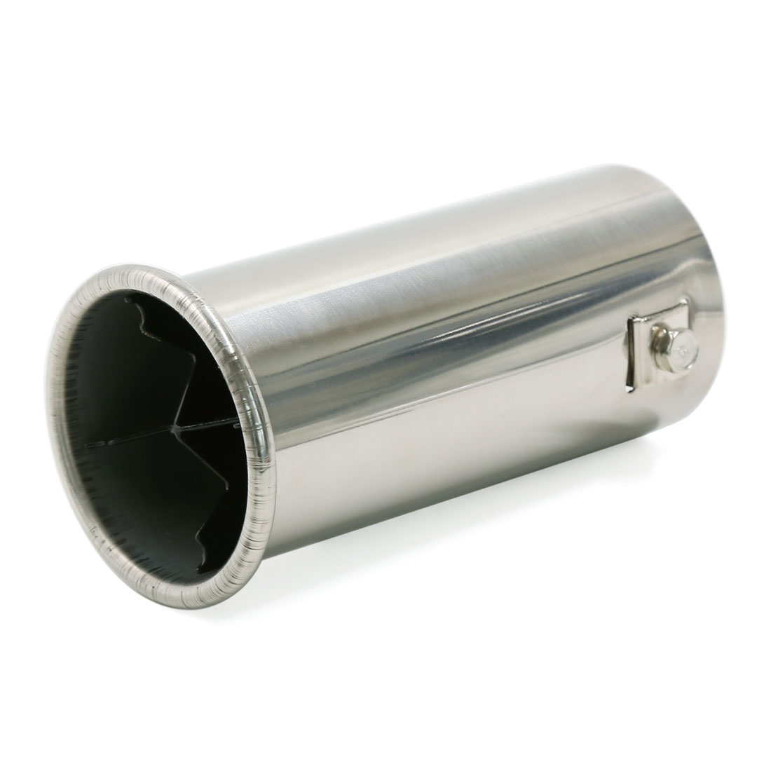 60mm Inlet Stainless Steel Straight Rear Exhaust Pipe Muffler for Car Vehicle
