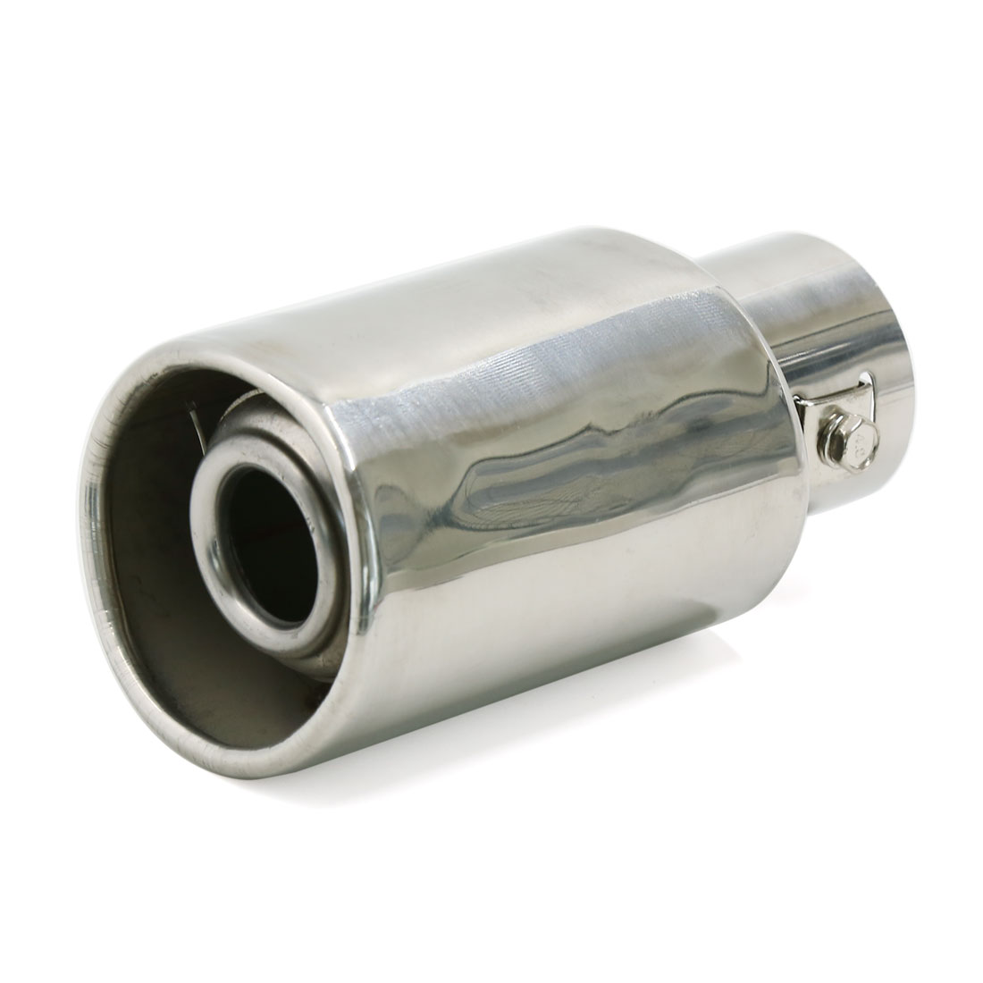 "2"" Inlet Dia Stainless Steel Car Truck Exhaust Muffler Tail Pipe Decorative Tip"