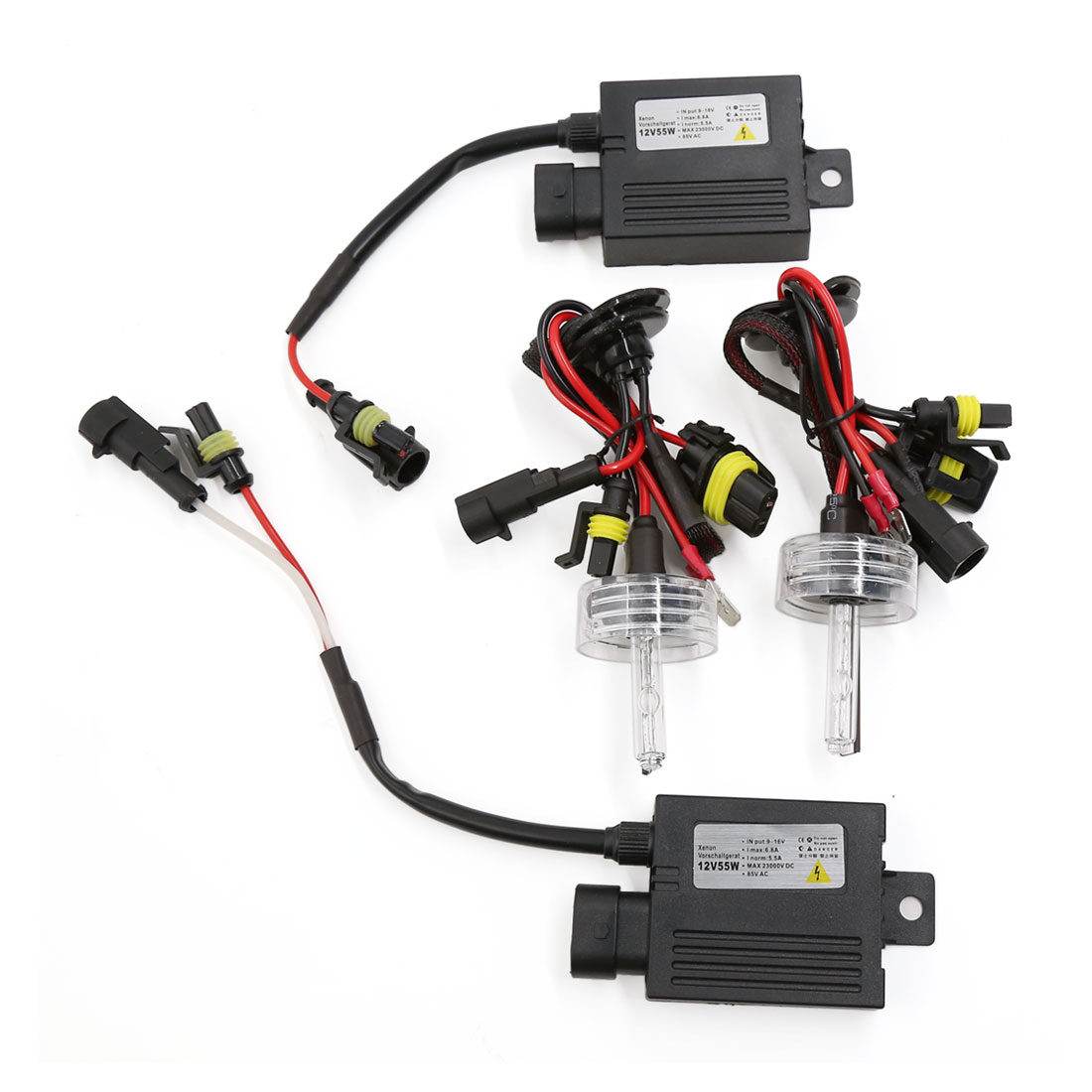 Car 55W H7 HID Xenon Bulb Lamp Head Light Slim Ballasts Conversion Kit 4300K