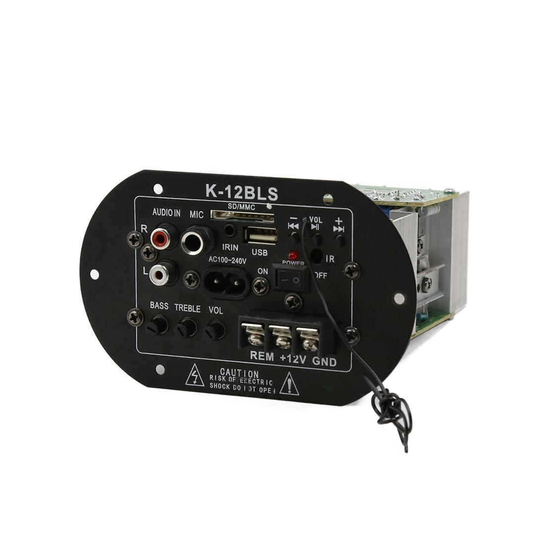 Car 12V 100-240V Subwoofer Decoder Amplifier Board Stereo Speaker Motherboard