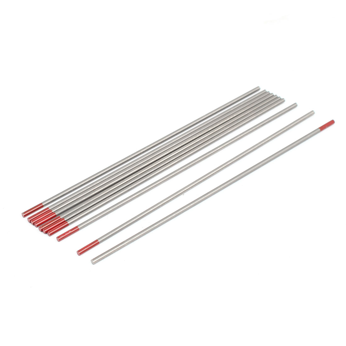 10 Pcs TIG Welding Thoriated Tungsten Electrodes WTh20 2.4 x 150mm