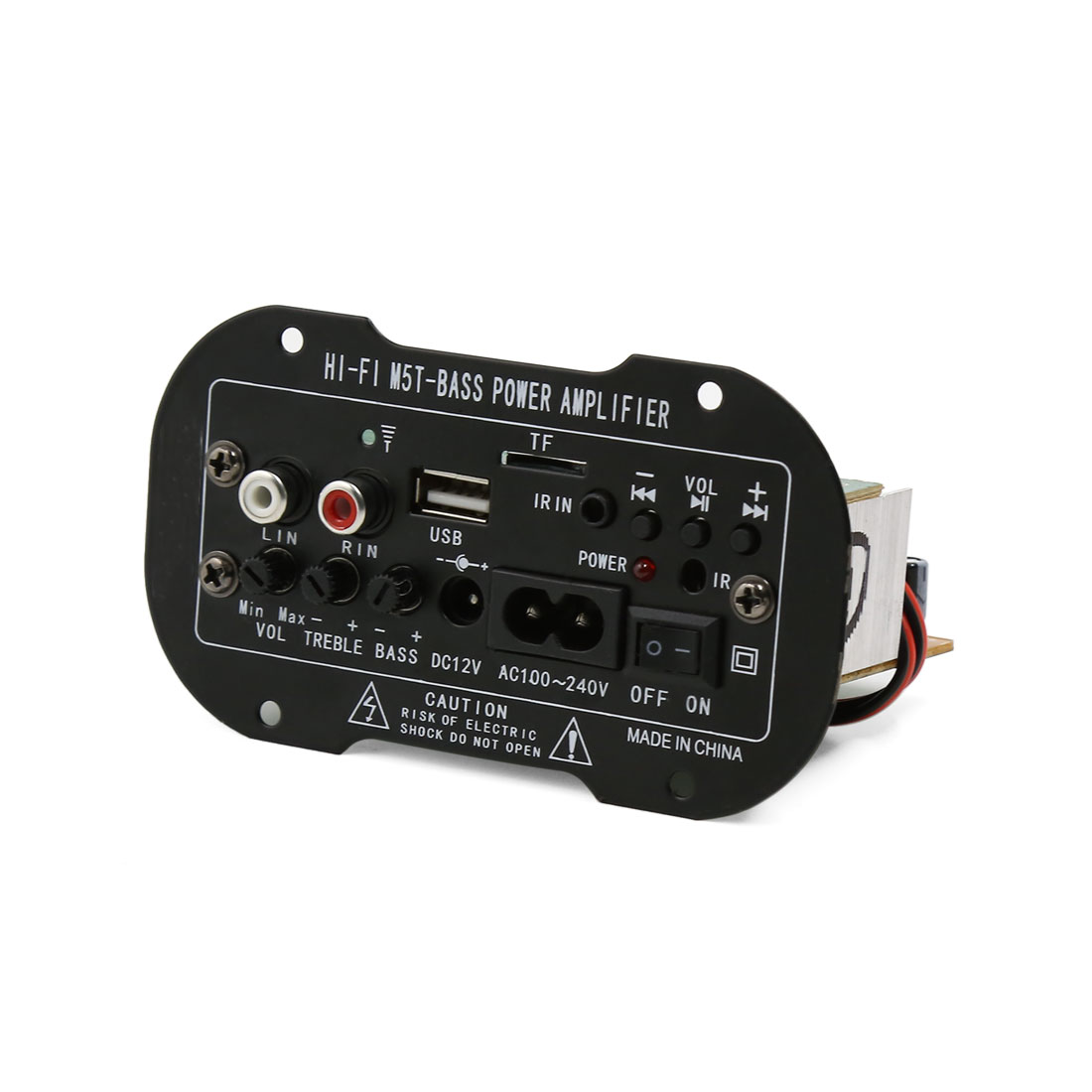 Car Truck bluetooth Subwoofer MP3 Decoder Amplifier Board 12V 100-240V