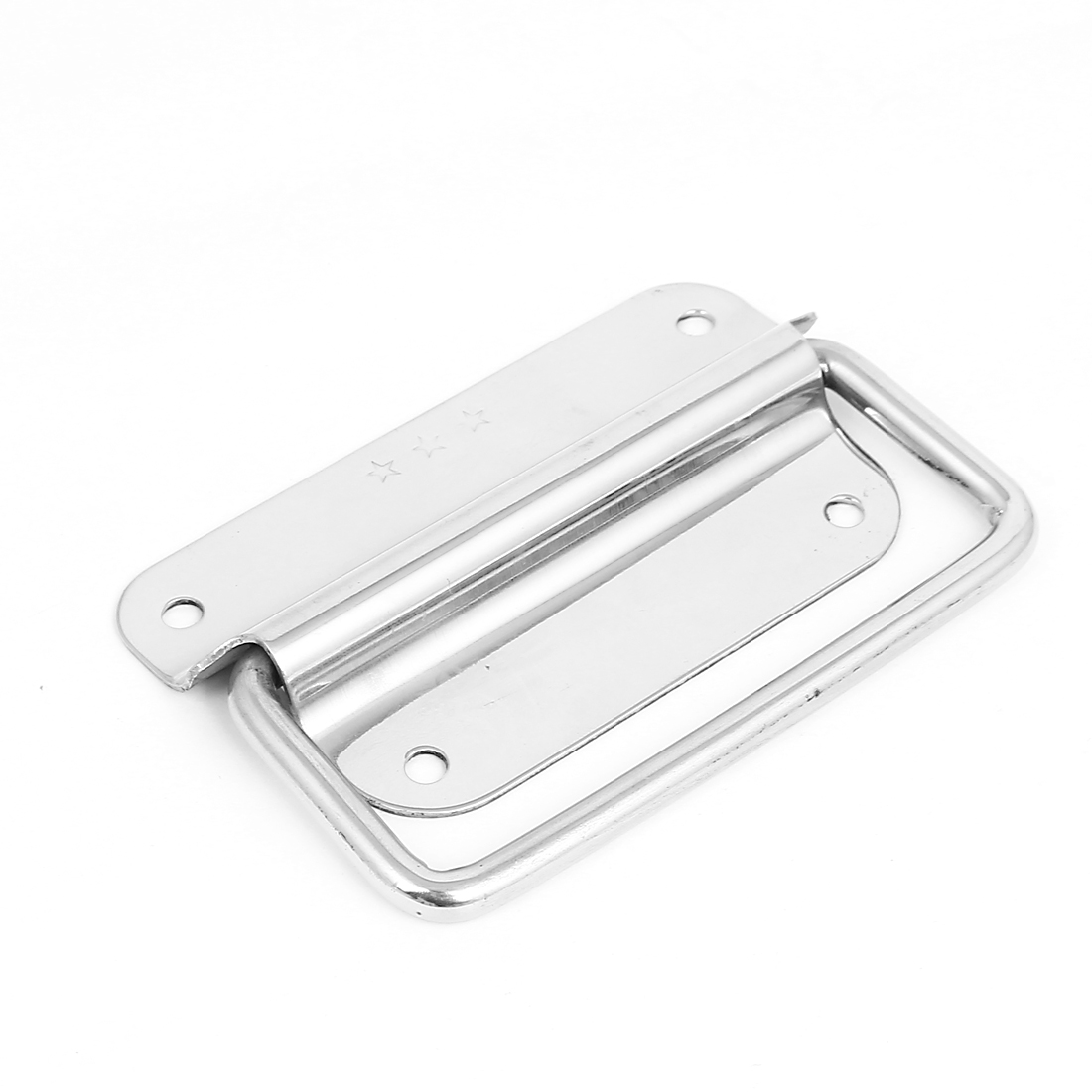 Furniture Drawer Cabint Stainless Steel Folding Door Handle Pull 100mm Length