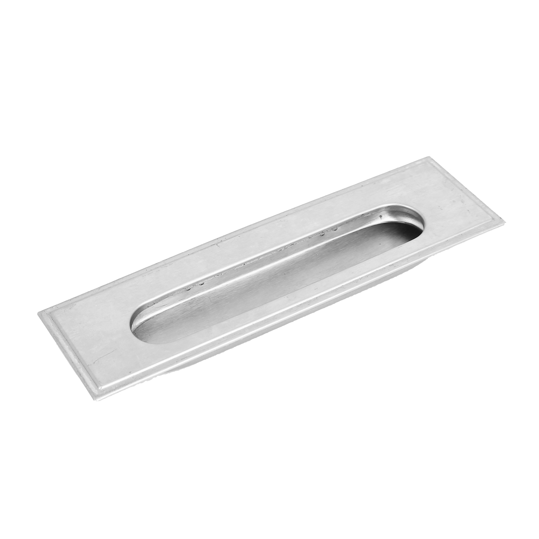 Kitchen Furniture Cabint Finger Pull Rectangle Recessed Sliding Door Handle