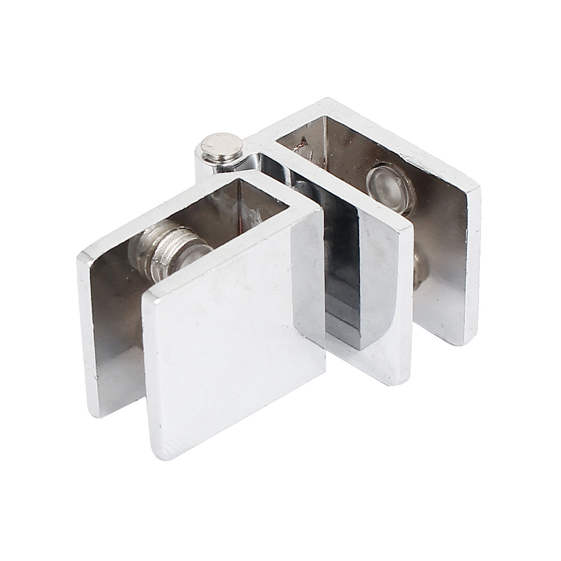 90 Degree Rotatable Adjustable 6mm-9mm Thick Zinc Alloy Glass Hinge Clamp Clip