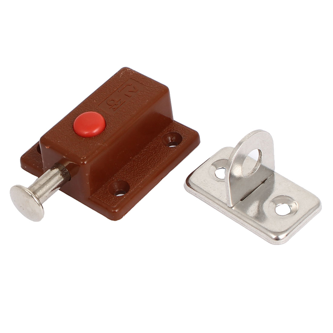 Cabint Drawer Safty Guard Plastic Shell Metal Automatic Bolt Latch